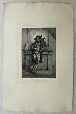 Eau-forte, Coquelin, XIXème, Alfred Taïée