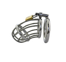 MALE STAINLESS STEEL WIREROPE CHASTITY DEVICE NEW ARRIVAL A165