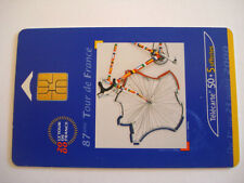 PHONECARD TELECARTE SPORT CYCLISME 87e TOUR DE FRANCE 2000