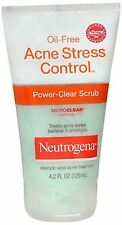 Neutrogena Oil-Free Acne Stress Control Power-Clear Scrub 4.20 oz (Pack of 2)