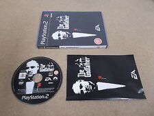 PS2 Playstation 2 Pal Game THE GODFATHER with Box Instructions