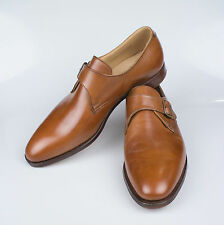 NIB. EDWARD GREEN for RALPH LAUREN PURPLE LABEL Roundwood Brown Shoes 10 $895