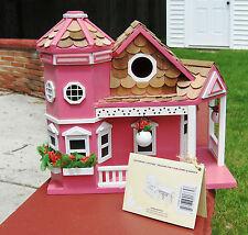 Home Bazaar Sea Cliff Birdhouse, Honeysuckle - NEW IN BOX!