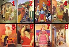 "1 FERNANDO BOTERO 8""x10"" QUALITY PHOTO PRINT CHOOSE FROM 96  PICTURE IMAGES"