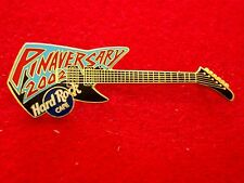 HRC HARD ROCK CAFE online pinaversary 2002 guitar blue black le1000
