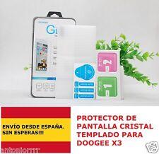 Doogee X3 / protector de pantalla cristal templado 2.5D 0.3mm !EN ESPAÑA!