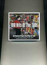 100 HITS OF THE '50S - ELVIS PRESLEY GUY MITCHELL CONNIE FRANCIS - 4 CDS - NEW!!