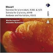 Mozart : Piano duets, KV 448, NEW & SEALED