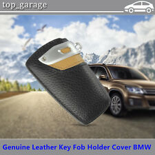 NEW Genuine Leather Key Fob Holder Cover Case For BMW 1-7 Series X3 X6 Z4 F25M