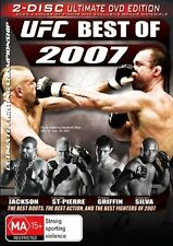 UFC - The Best of 2007 (DVD, 2009, 2-Disc Set, Region 4)