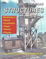 MODEL RAILROAD STRUCTURES: Build Model Bridges, Buildings & Background and more