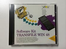 New TRANSFILE WIN 48 Software CD for HP48G/GX/S/SX - Vintage Collection