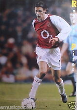 "ROBERT PIRES ""CONTROLLING THE FOOTBALL"" POSTER FROM ASIA - Arsenal FC Soccer"