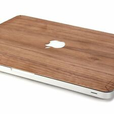 "New Stylish Wood Design Macbook Skin Real Wood 11"" Air / Pro/ Retina Case Cover"