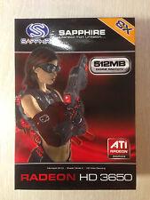 Sapphire HD3650 512Mb DDR2 AGP 128 bits tarjeta de video nuevo! Raro!