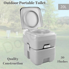 OZtrail Folding Toilet Chair Portable Camping Seat Hiking | eBay