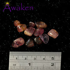 *ONE* PINK TOURMALINE Tiny Natural Tumbled Stone Approx 5-10mm *TRUSTED SELLER*
