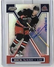 RICK NASH 2003 PACIFIC EXCLUSIVE CERTIFIED AUTOGRAPH#/1000-BV$40.00 ROOKIE