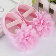 Newborn to 18M Infants Baby Girl Soft Crib Shoes Moccasin Prewalker Sole Shoes