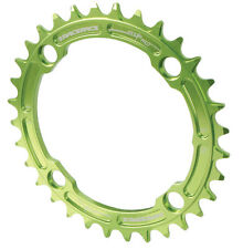 Race Face Single Narrow Wide 1x MTB Chainring - 104mm BCD 32t Green