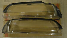 BMW 5 E39 2000-2004 FACELIFT HEADLIGHT GLASS COVER LEFT+RIGHT(PAIR) KIT
