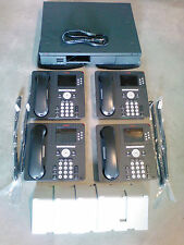 Avaya IP Office 500 V2 Business Phone System VMail 700476005 IP Phones w 4 9640