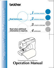 BROTHER CS-80 Sewing Machine Owner's MANUAL ON CD