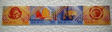 Macau 1998 Tiles in Macau 4v Stamps Mint NH