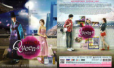 QUEEN AND I / QUEEN INHYUN'S MAN 인현왕후의 남자 仁显王后的男人 Korean Drama DVD English Subs