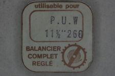 Balance complete PUW 260 INC bilanciere completo 721 NOS