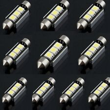 10X36mm CANBUS 3LED 5050 SMD Lampe 6418 C5W Auto Lizenz Dome Innenraum Licht Neu
