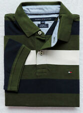 NWT Tommy Hilfiger Men's Short Sleeve Striped Polo Size: S
