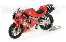 MINICHAMPS 122 011446 HONDA VTR1000 motorbike Rossi & Edwards Suzuka 2001 1:12th