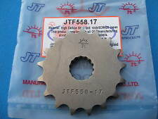YAMAHA TZR125  FRONT GEARBOX SPROCKET  17 TEETH  (+ 1)  1993 - 1996