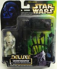Star wars the empire strikes back: Deluxe snowtrooper cardées action figure