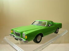 BUDIG FORD RANCHERO 500GT BROUGHAM PICK-UP 1978 GREEN RESIN HANDBUILT+BOX 1:43