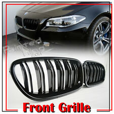 Painted Gloss Black M5 TYpe Front Grille Grill BMW 5-Series F10 F11 4DR