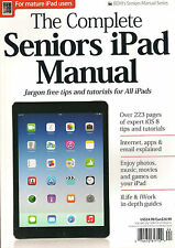 NEW! The Complete SENIORS iPAD MANUAL Guide Learn How Use Internet Explained $25