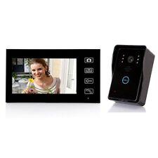 """2.4GHz SY806MJW11 7"""" Inch Color Display Metal Camera Video Door Phone Doorbell"""