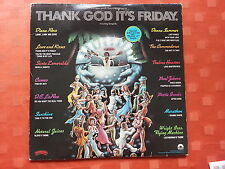 70's LP's On Sale Thank God It's Friday Compilation Album 1978  Soul, Disco DLP1