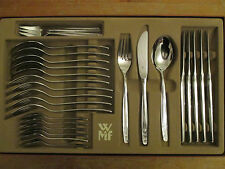 WMF Sevilla Cromargan 6 Persons 30 Teile Note 2 Cutlery Flatware utensils TOP