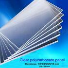 Clear Polycarbonate Sheet Lexan Panel Greenhouse Shed Solid Unbreakable Bendable