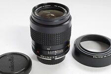 Minolta 35mm f1.8 MC Rokkor-HH lens with original lens hood & caps. Rare item