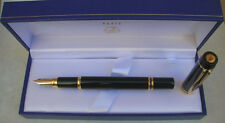 WATERMAN LE MAN 100 BLACK FOUNTAIN PEN 18K GOLD  X FINE POINT NEW IN BOX