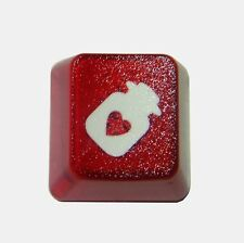 Translucent Heart Bottle Novelty Doubleshot Cherry MX Keycaps / Key cap