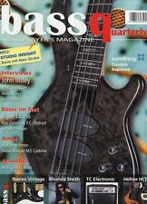 Bass Quaterly # 2010 5 -SANDBERG CUSTOM SUPREME- Studio insight, John Illsley...
