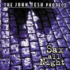 JOHN TESH - Sax All Night - (CD, Oct-1997, Decca)-NEW