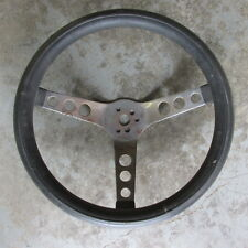 FORD CHEVY MOPAR 13 1/4 INCH 3 SPOKE STEERING WHEEL RAT ROD GASSER RACE CAR
