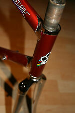 Colnago Master 1 generazione Saronni Red 80 degli anni QUADRO ALTEZZA 58cm VINTAGE