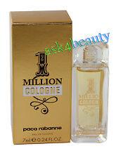 1 Million Cologne by Paco Rabanne 0.24oz/7ml Edt Splash Mini For Men New In Box